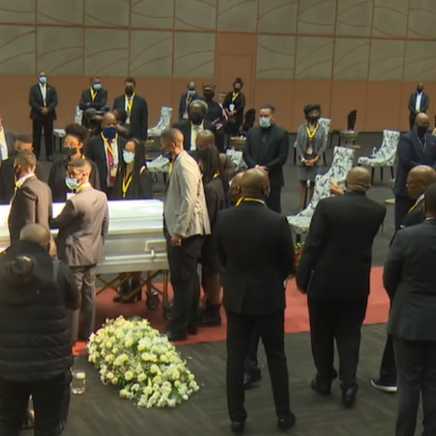 Nelli Tembe funeral pictures