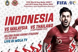 TV broadcast rights Indonesian national team to qualify fifa world cup 2022