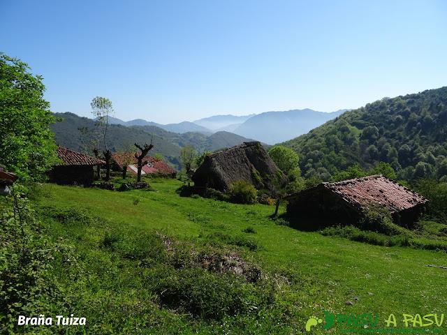 Teitos en Braña Tuiza, Teverga