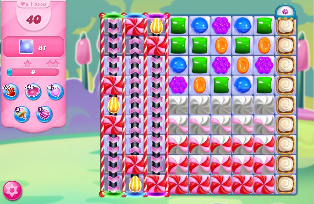 Candy Crush Saga level 8556