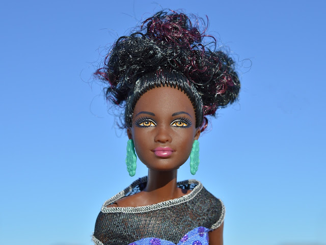 cabelo cacheado, day after, boneca