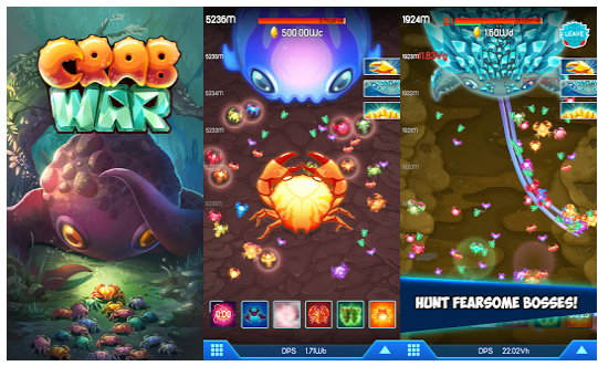 Crab War MOD Unlimited Money v1.6.1 APK Android Terbaru