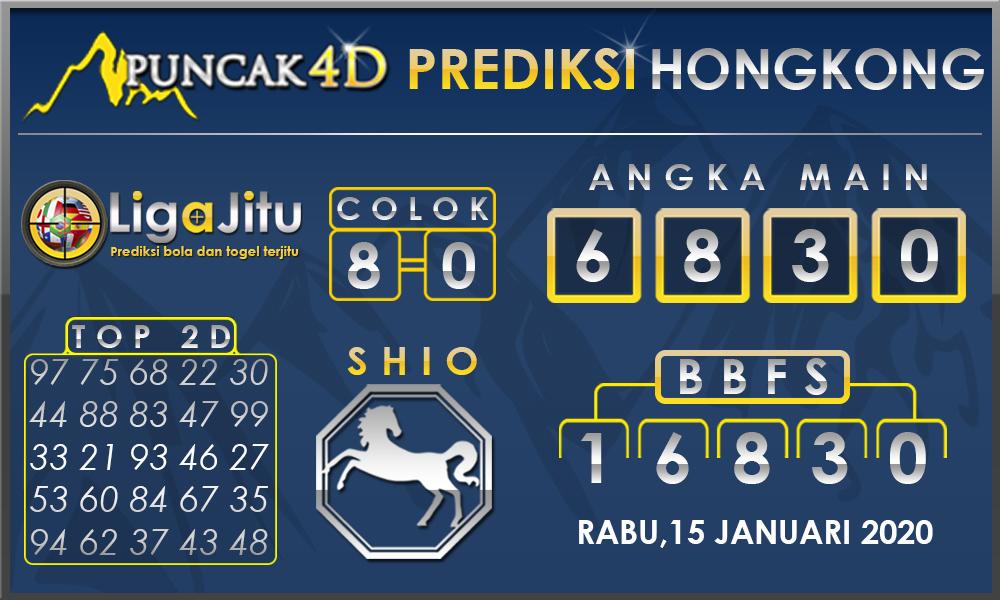 PREDIKSI TOGEL HONGKONG PUNCAK4D 15 JANUARI 2020