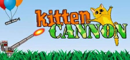 Play kitten cannon aim your cannon to the perfect angle and launch