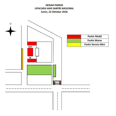 Rekayasa Lalin Parkir Hari Santri 2018 Comal Pemalang