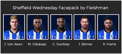 PES 2021 Sheffield Wednesday Facepack by Fleishman