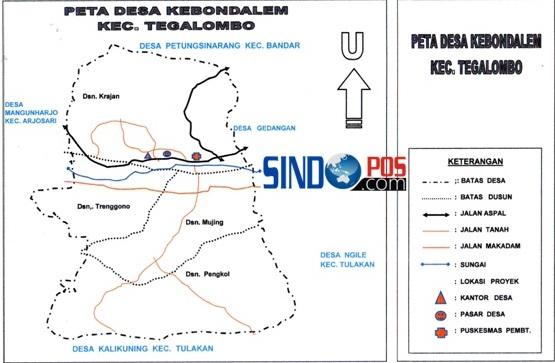 Profil Desa & Kelurahan, Desa Kebondalem Kecamatan Tegalombo Kabupaten Pacitan