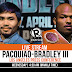 BOXE.  Manny Pacquiao vs Tim Bradley. Manny Vince L'Ultima Battaglia.