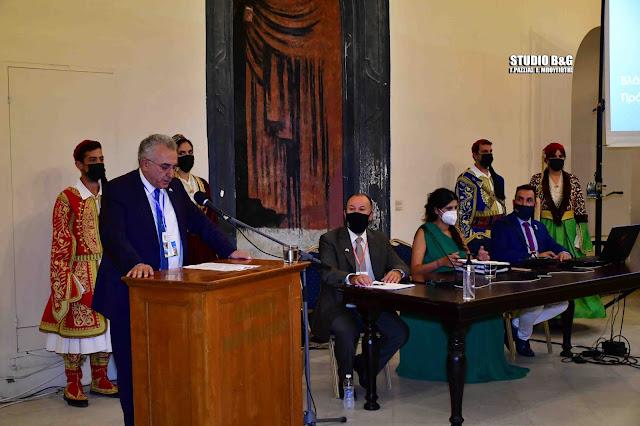 Έναρξη για 37ο Πανελλήνιο Συνέδριο στο Ναύπλιο της Διεθνούς Ένωσης Αστυνομικών (βίντεο)