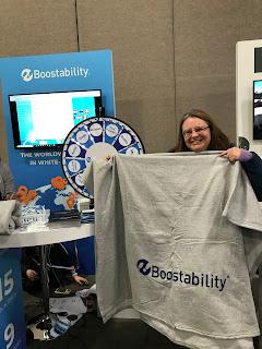 I won the Boostability Blanket!