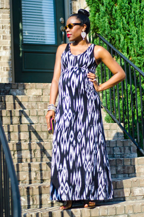 Africian Sexy Maternity Dresses