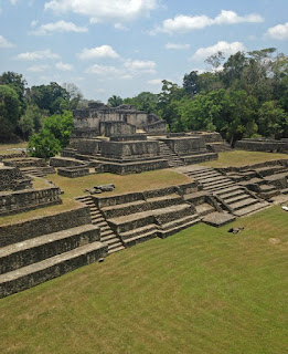 Mayan temples in Belize near the border of Guatemala