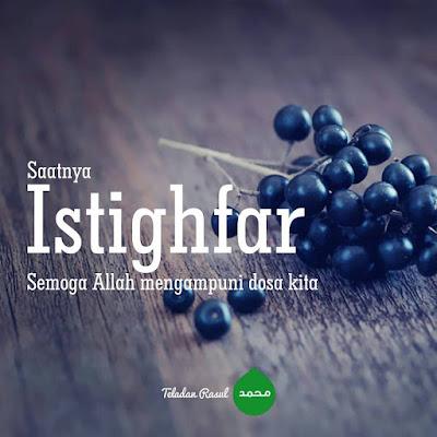 Motivasi islam anjuran ber istighfar
