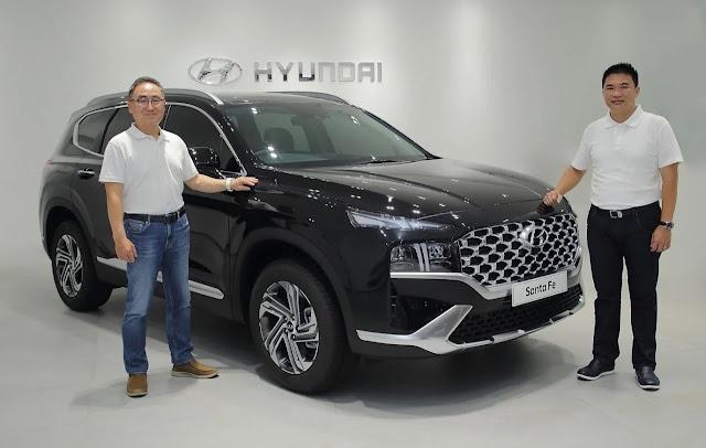 Harga Hyundai New Santa Fe 2021