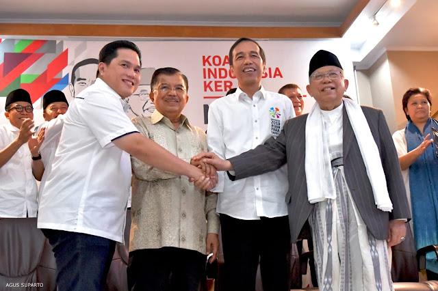 Bawaslu Bakal Periksa Erick Thohir Soal Kampanye Jokowi di Media Massa
