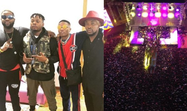 Wizkid went for Olamide's concert, OLIC5 after shutting down Made In Lagos concert