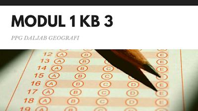 Soal dan Jawaban Tes Formatif Modul 1 KB 3