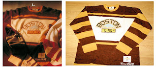 NHL CCM Heritage Jersey Collection - Boston Bruins circa 1928