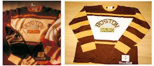 NHL CCM Heritage Jersey Collection - Boston Bruins circa 1928