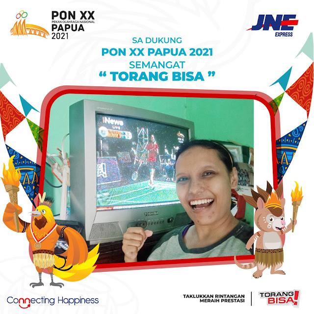 JNE dukung PON XX Papua 2021