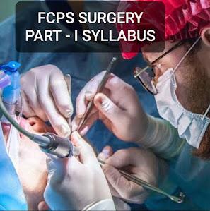 FCPS SURGERY PART - I SYLLABUS