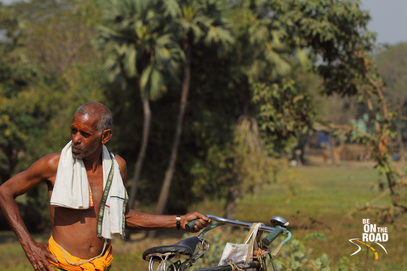 A Odisha countryside priest portrait shot