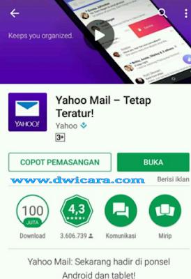 buat email yahoo baru