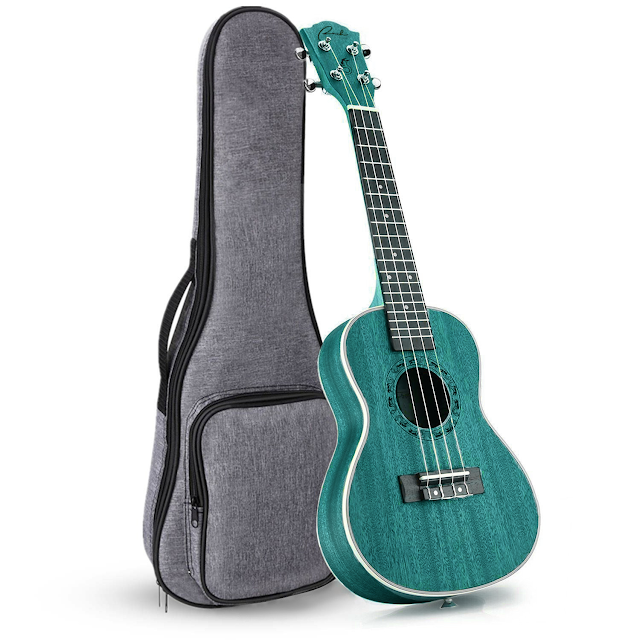Ranch Starry Blue Concert Ukulele