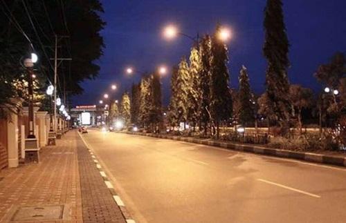 Jalan Lambung Mangkurat dan Masjid Raya