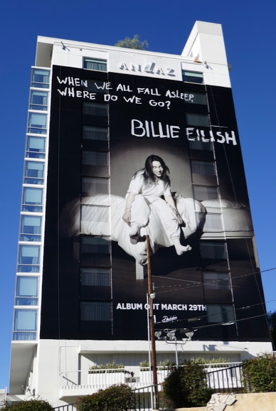 When We All Fall Asleep Where Do We Go Billie Eilish billboard