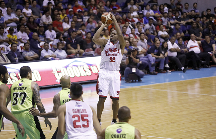 import Justin Brownlee stood tall among all players with 39 points