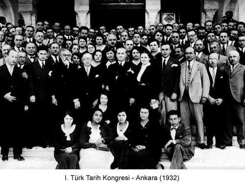 Atatürk Türk Tarih Kongresi 1932 Fotoğraf