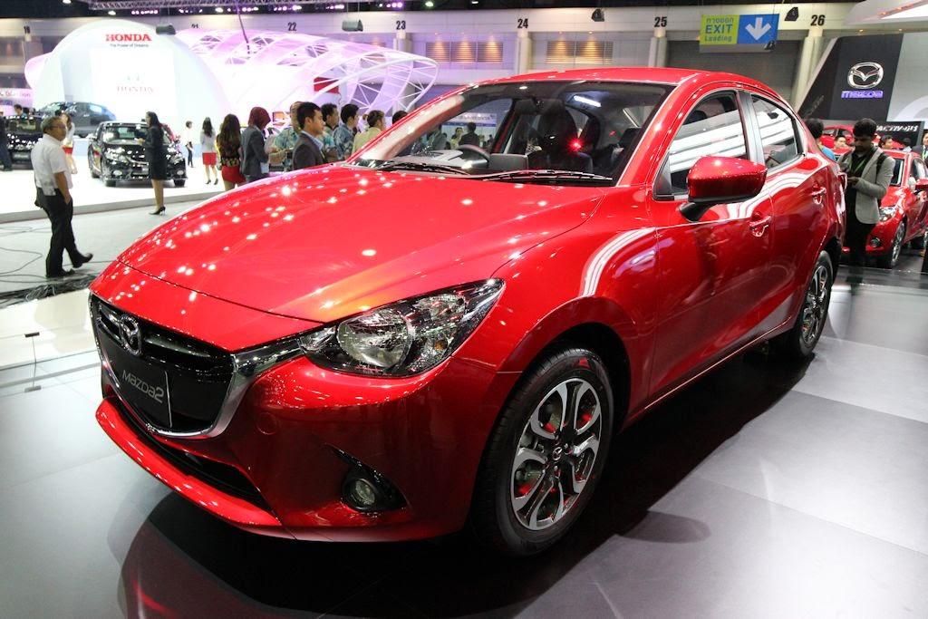 Thailand Motor Expo 2014 Mazda2 Sedan Makes Global Debut