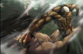 Attcak Titan vs Armoured Titan