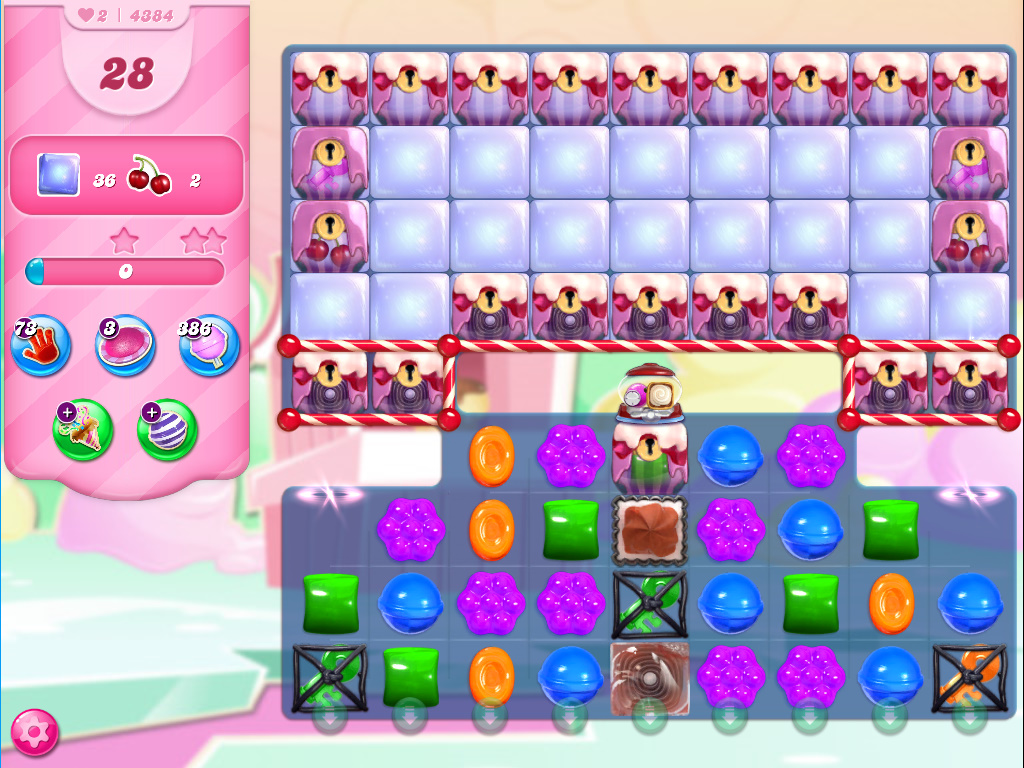 Candy Crush Saga level 4384