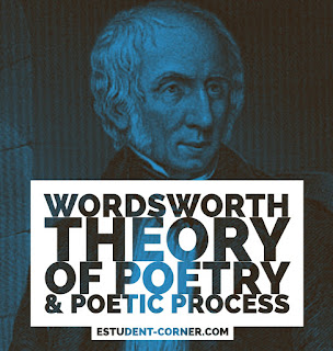 Wordsworth Theory of poetry , poetic process , poetic diction and tranquility