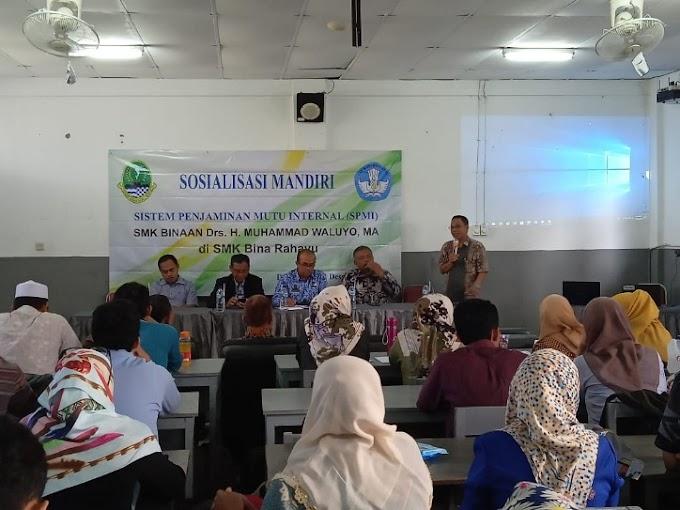 Isi Libur Sekolah, 20 SMK Swasta Ikuti Sosialisasi SPMI
