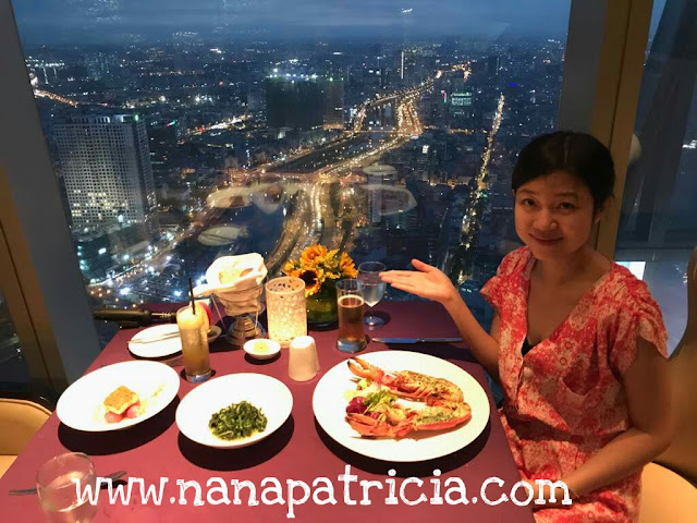 Bitexco skydeck sky dining