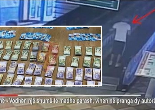 Thieves who stole 20,000 million leks and 50,000 Swiss francs in Tirana are caught