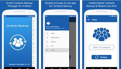 Aplikasi Backup Kontak HP Android Terbaik