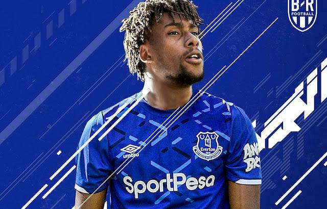 Alex Iwobi Everton FC