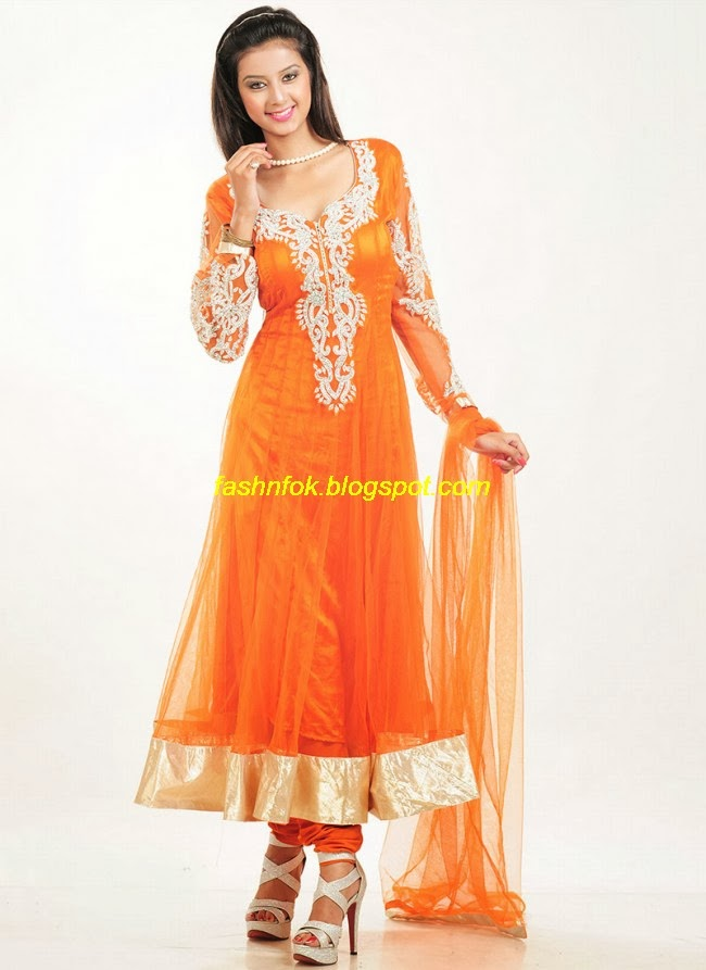 Fashion Amp Fok New Latest Designers Anarkali Fancy Bridal Wedding Frocks Suits Collection 2013