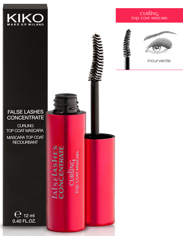 ecd0bb6ac10 Kiko, Mascara Top Coat False Lashes Concentrate - Preview | Live In ...