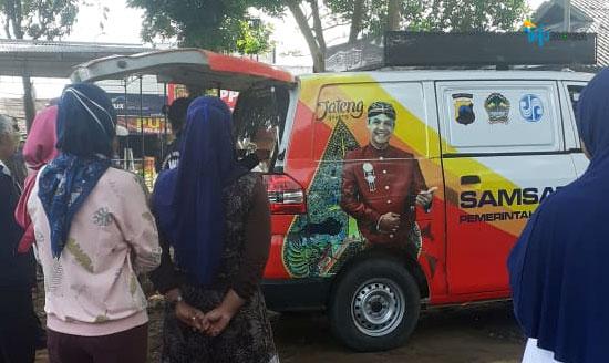 Layanan SIM & Samsat Keliling Pemalang Hari ini Berada di Alun-alun Moga