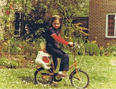 French Village Diaries Freedom, one week post confinement cycling 1970s