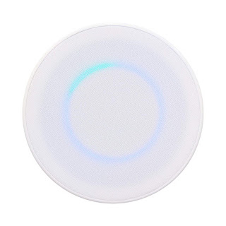image of recessed amazon echo dot