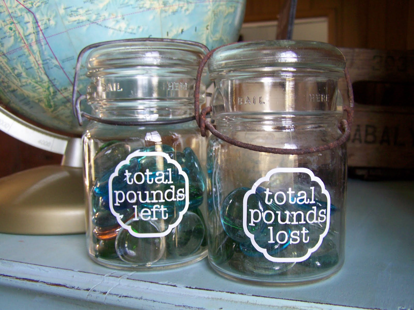 Calculating Blessings Random Acts Of Craftiness 8 Weight Loss Jars