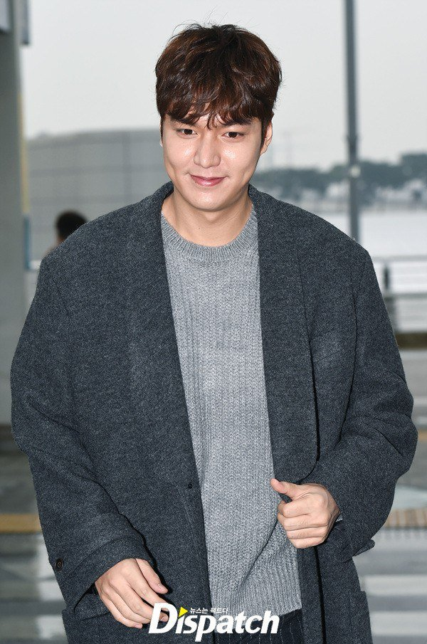 Lee Min Ho shows some weight gain