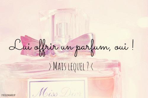 offrir parfum cadeau homme femme