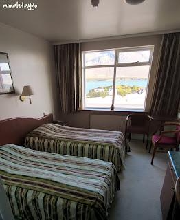 Habitación doble del Hotel Borgarnes